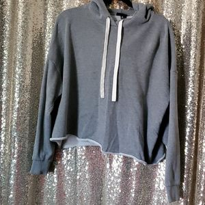 CROPPED HOODIE by WHO WHAT WEAR